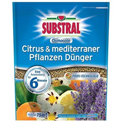 Substral Osmocote Citrus & méditerranée Engrais Pour Plantes - 1,5 kg
