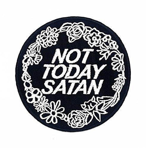 heute Satan Cartoon Kids Kinder Cute Animal Patch für Heimwerker-Applikation Eisen auf Patch T Shirt Patch Sew Iron on gesticktes Badge Schild Kostüm (Satan Kostüme)