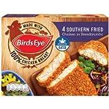 Birds Eye 4 Chicken In Breadcrumbs Southern Fried, 360g (Frozen)