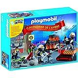 Playmobil - 5495 - Calendriers De L'avent - Brigade De Pompiers
