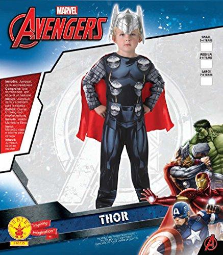 Imagen de thor classic  avengers assemble  childrens disfraz  pequeño  104cm alternativa