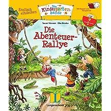 Die Abenteuer-Rallye - Buch mit Hörspiel-CD: Englisch entdecken - Die Kindergartenbande , Englisch