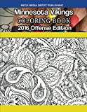 Minnesota Vikings 2016 Offense Coloring Book