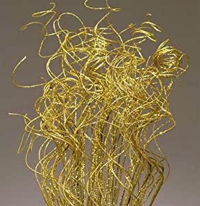 24-28 Gold Sparkle Curly Ting Ting Branch by Shinoda Design Center