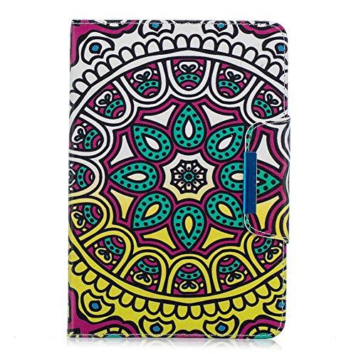 Coopay für iPad Mini 1 2 3 7.9 Zoll Schutzhülle,Flip Full Body Lederhülle,Slim Damen Ledertasche,Bunt Muster Hülle,Standfunktion 360 Grad Smart Case Cover mit Weich Bumper Hüllen,Elegant Sonnenblume Mini-flip-cover
