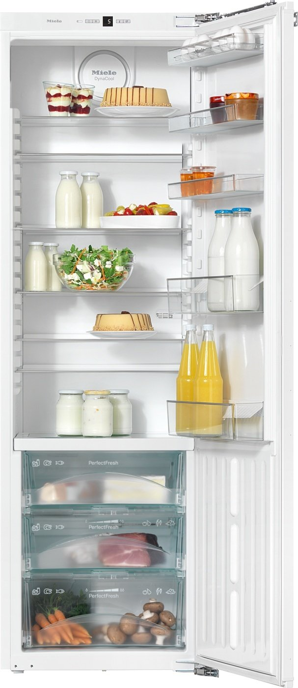 Miele K 37273 iD Kühlschrank / Energieeffizienz A+++ / 177 cm / 89 kWh/Jahr / 391 Liter Kühlteil /Reinigung der Türabsteller im Geschirrspüler – ComfortClean