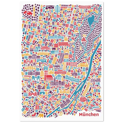 monaco-poster-citta-plan-poster-stampa-artistica-parati-hochformat-con-le-attrazioni-marie-platz-fra
