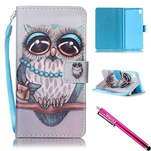 xperia-xa-case-firef1sh-kickstand-pu-leather-flip-purse-case-slim-bumper-cover-with-lanyard-magnetic