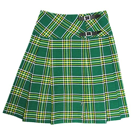 Kostüm Schottland National - Tartanista - Damen Wickel-Kilt - lang - 58 cm (23
