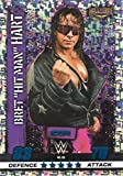 WWE SLAM ATTAX 10 - BRET DER HITMAN HART IKONE TRADING CARD - WRESTLING