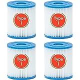 CYNEBR Cartouche Filtre Piscine Type I pour Bestway Pompe de Piscine, Filtre Cartouche Type I, 58093 filtres pour Filtre Gonf