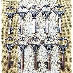 40grande en forma de llave abrebotellas de botella de boda rústico Vintage Decoración Bestman regalo