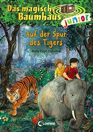 Das magische Baumhaus junior - Auf der Spur des Tigers: Band 17
