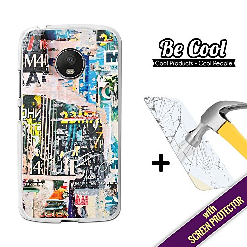 Becool® - Funda Gel Flexible para Moto G5, [ +1 Protector Cristal...