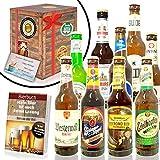 "Bierset ""Die Besten Biere Deutschlands"" in Geschenkverpackung (9 x 0.33 l/ 0.5 l)"
