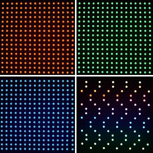 Per Arduino ,Kuman 16x16 RGB Led WS2812B Flessibile 5050 asse