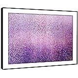 BFAB1412C gerahmtes Bild druckt Wandkunst - pink blau Mosaik-Fliesen xl Moderne Abstrakte Landschaft Wohnzimmer Schlafzimmer Stück Wohnkultur Leicht Hang Guide (58x41cm)