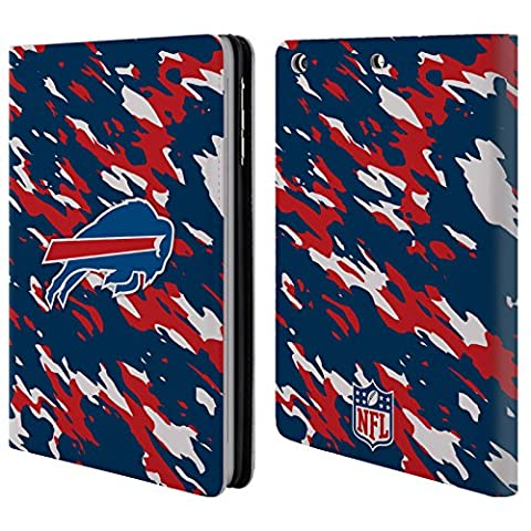 Official NFL Camou Buffalo Bills Logo Leather Book Wallet Case Cover For Apple iPad mini 1 / 2 / 3