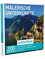 Smartbox - Geschenkbox - Malerische Unterkünfte - 3* Sterne Hotels und originelle Unterkünfte…