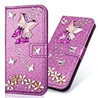 Glitter Amazing Bling Leather Flip Wallet Compatible with iPhone 11