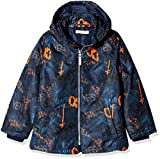 NAME IT Jungen Jacke NMMMELLON Jacket Grafitti, Mehrfarbig Dress Blues, 92