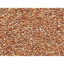 PaviPlan® 1 m² Steinteppich-Boden Rosso Marmor 2-4mm PUR-ECO im Mischeimer