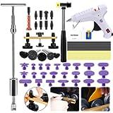 Strumenti di riparazione automatica dell'ammaccatura con sollevatore di ammaccature dorate + Kit di estrazione di…