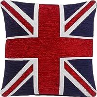 Kissen Union Jack London Dekokissen Sofakissen Kuschelkissen blau rot weiß 40x40