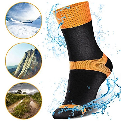 Calcetines Impermeables Ciclismo,Mujer,Hombre,Calcetines Transpirables,M