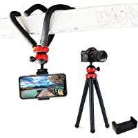 techlife Solutions Flexible Gorillapod Tripod with 360° Rotating Ball Head Tripod for All DSLR Cameras(Max Load 1.5 kgs…