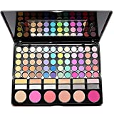 Spritech(TM) Fashion 78 Colors Waterproof Professional Makeup Eye Shadow Eyeliner Blush Makeup Combination Pallet by Spritech