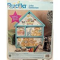 Bucilla 1995 God Bless Babies Birth Announc. Counted Cross Stitch by Bucilla - God Bless Baby Cross