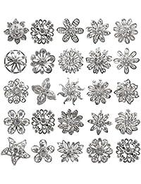 Tooky 24pcs Mix Set Kit de cristales brillantes broches broche Pin ramo de boda al por mayor Lot