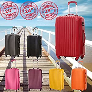 Hard Cabin Travel Trolley Luggage Suitcase Trolley Bag Case New