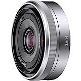 Sony SEL16F28 E Mount - APS-C 16mm F2.8 Prime Lens (Silver)
