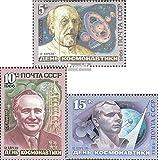 Prophila Collection Sowjetunion 5591-5593 (kompl.Ausg.) 1986 Tag der Kosmonauten (Briefmarken für Sammler) Weltraum