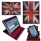 UK England Flagge Tablet Tasche Schutz Hülle für 10 Zoll Xido X111 / X110 / Z110 3G