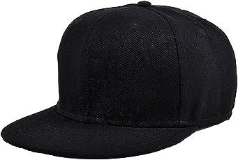 DRUNKEN Men's Cotton Plain Snapback Cap Freesize