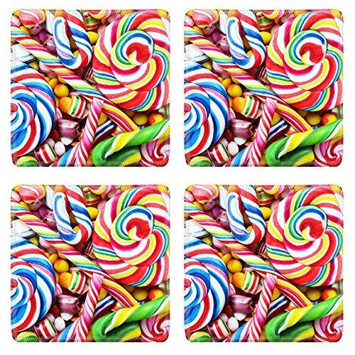 Untersetzer aus verschiedenen Bunte Colorful Candies Bild 22556715von MSD Matte Individuelle Desktop Laptop Gaming Mauspad
