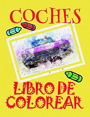 Libro Colorear Coches ✎: Libro Colorear Carros Colorear