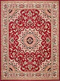 Carpeto Rugs Tapis Salon Rouge 120 x 170 cm Oriental/Verona Collection