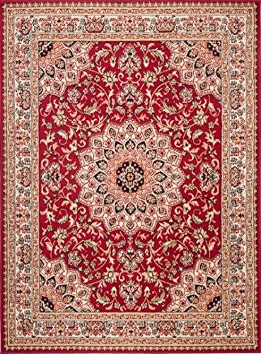 Carpeto rugs tappeto 180 x 250 cm rosso orientale classico verona collezione