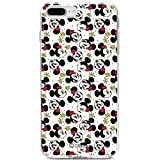 Coque pour Apple iPhone 7 Plus/8 Plus, côtés silicone Transparent Minnie shorts par...