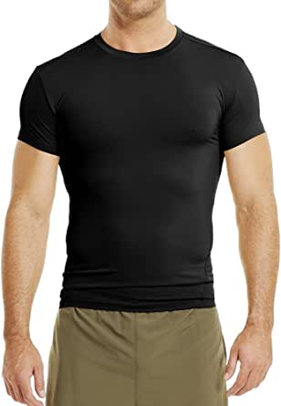 Under Armour Men's Tac HeatGear Comp T Cooling & Breathable Running Shirt for Men, Athletic T Shirt with Anti-Odour Material