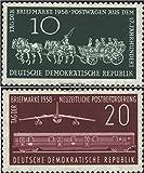 Prophila DDR 660-661 (kompl.Ausg.) 1958 Tag der Briefmarke (Briefmarken für Sammler)