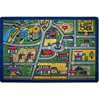 Confetti 100x150 cm Trafik Anaokulu & Çocuk Odası Oyun Halısı