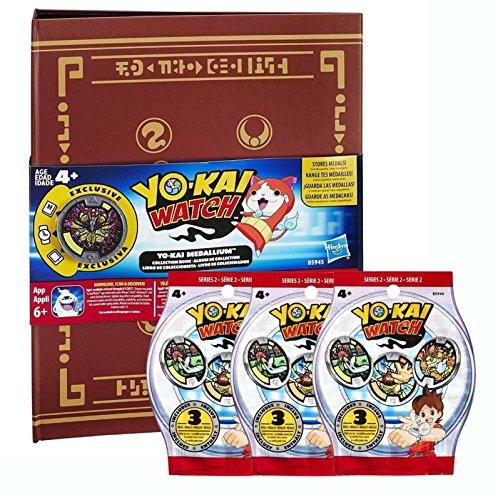 Medallium Yo-Kai Watch + 3 sachets de 3 médailles