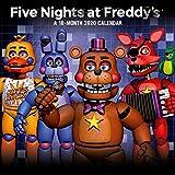 1art1 Five Nights at Freddy's Poster Calendrier - FNAF Calendrier Officiel 2020 (30 x 30 cm)