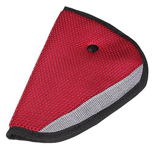 ceely (TM) auto bambino sicurezza copertura Spalla Cintura triangolo supporto regolabile resistente schermo cintura guanto (Beige, set di 2)