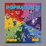 Hama - 399-12 - Loisirs Créatifs - Livre Inspiration n°12 - Perles à Repasser Midi - 68 Pages